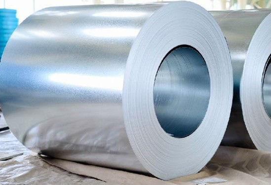 High strength galvanized steel coil
